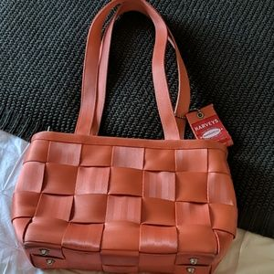 Coral Seatbelt Bag